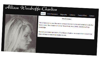 Allison Woodroffe-Charlton artist website